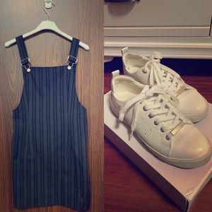 SALE 🔥 Black Romper and White Aldo Shoe 😍👌